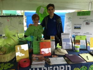 Tracey Waite and Mark Petrequin: Earth Day Festival 2016