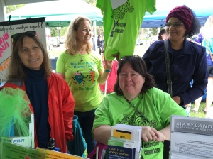 Jean Salvatore, Wendy McPherson, Judy Pentz at Aberdeen Earth Day Festival 2016