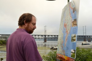 Russell Kovach, C Milton Wright Science Teacher, Studies Climate Change-Induced Flood Projections for the Bay