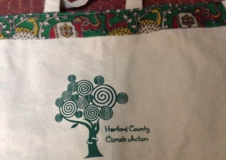 Canvas Bag supports Harford County Climate Action